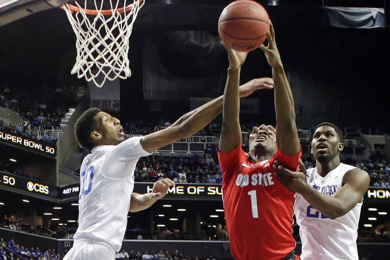 48dc73b11 Kentucky vs. Ohio State  Score and Twitter Reaction for 2015 CBS ...
