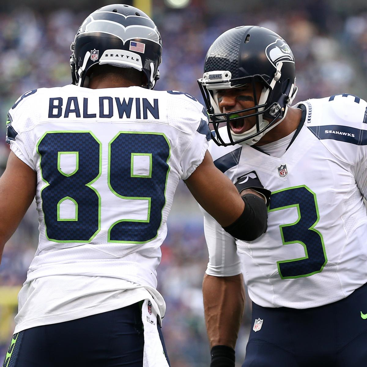 Seattle Seahawks Sign Doug Baldwin To 4 Year Extension: Russell Wilson, Doug Baldwin Become Elite Pairing During