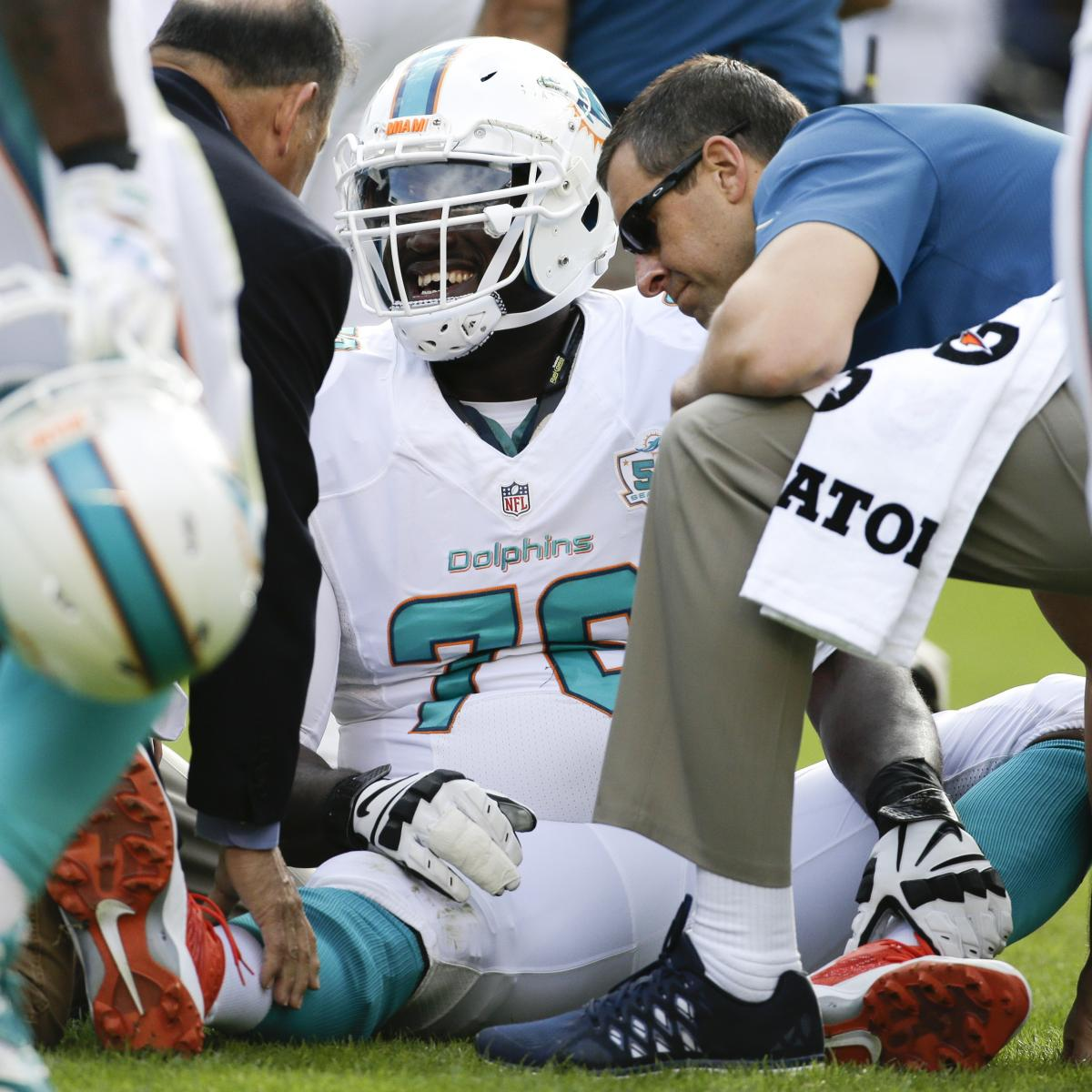 San Diego Chargers Front Office: Miami Dolphins' Slew Of Injuries Pours Salt Into Wounds Of