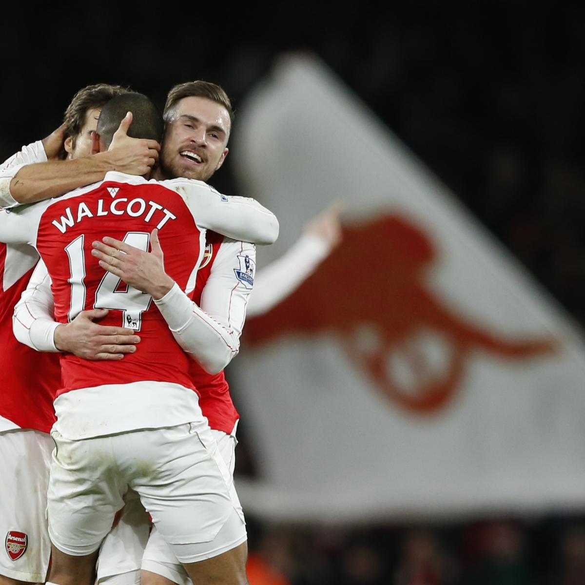 Arsenal Vs Tottenham Live Score Highlights From Premier: Arsenal Vs. Manchester City: Live Score, Highlights From