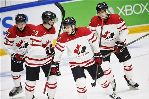World Junior Hockey Championships 2016 Results Monday Group Scores