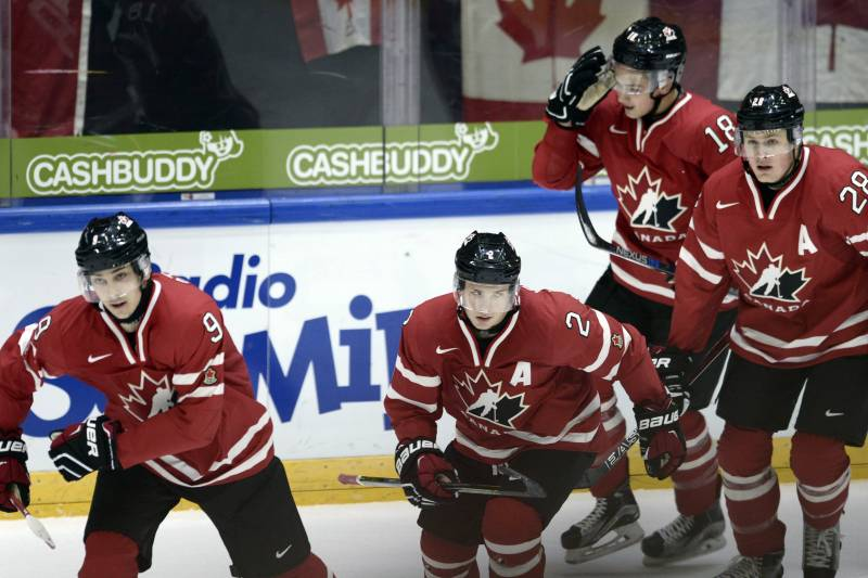 World Junior Hockey Championships 2016 Results Tuesday Group Scores