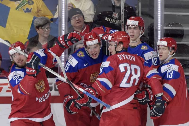 World Junior Hockey Championships 2016 Results Quarterfinal Scores