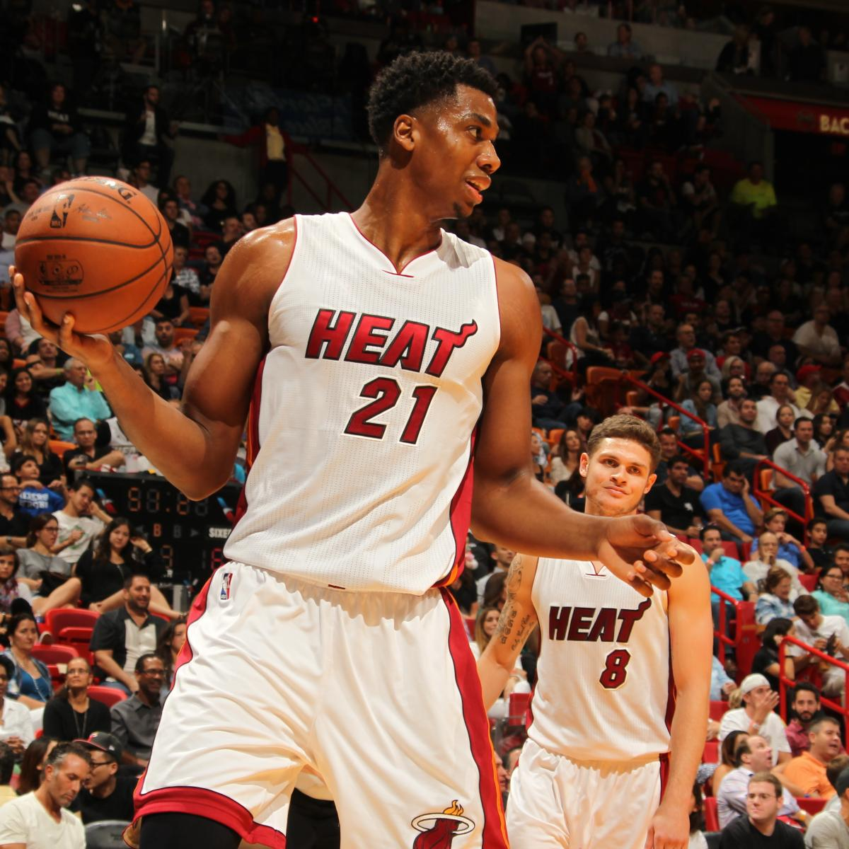 Miami Heat Face Excruciating Decision in Hassan Whiteside ...
