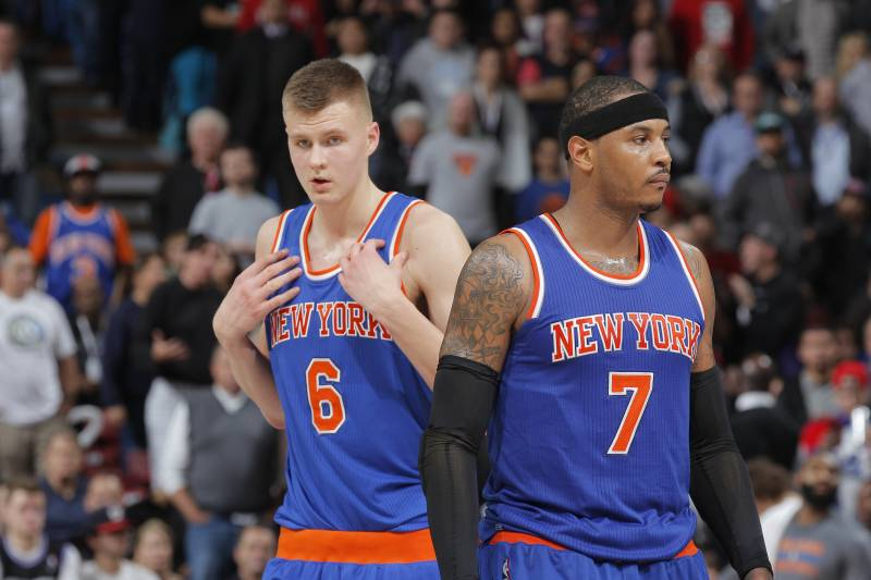 b846650af Why Must Knicks Choose Between Carmelo Anthony and Kristaps ...