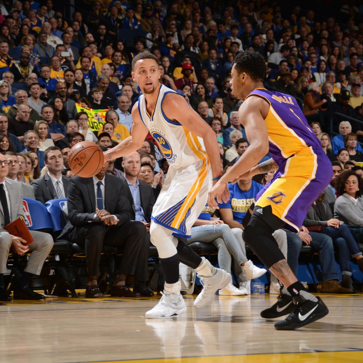 Lakers Vs. Warriors: Score, Video Highlights And Recap