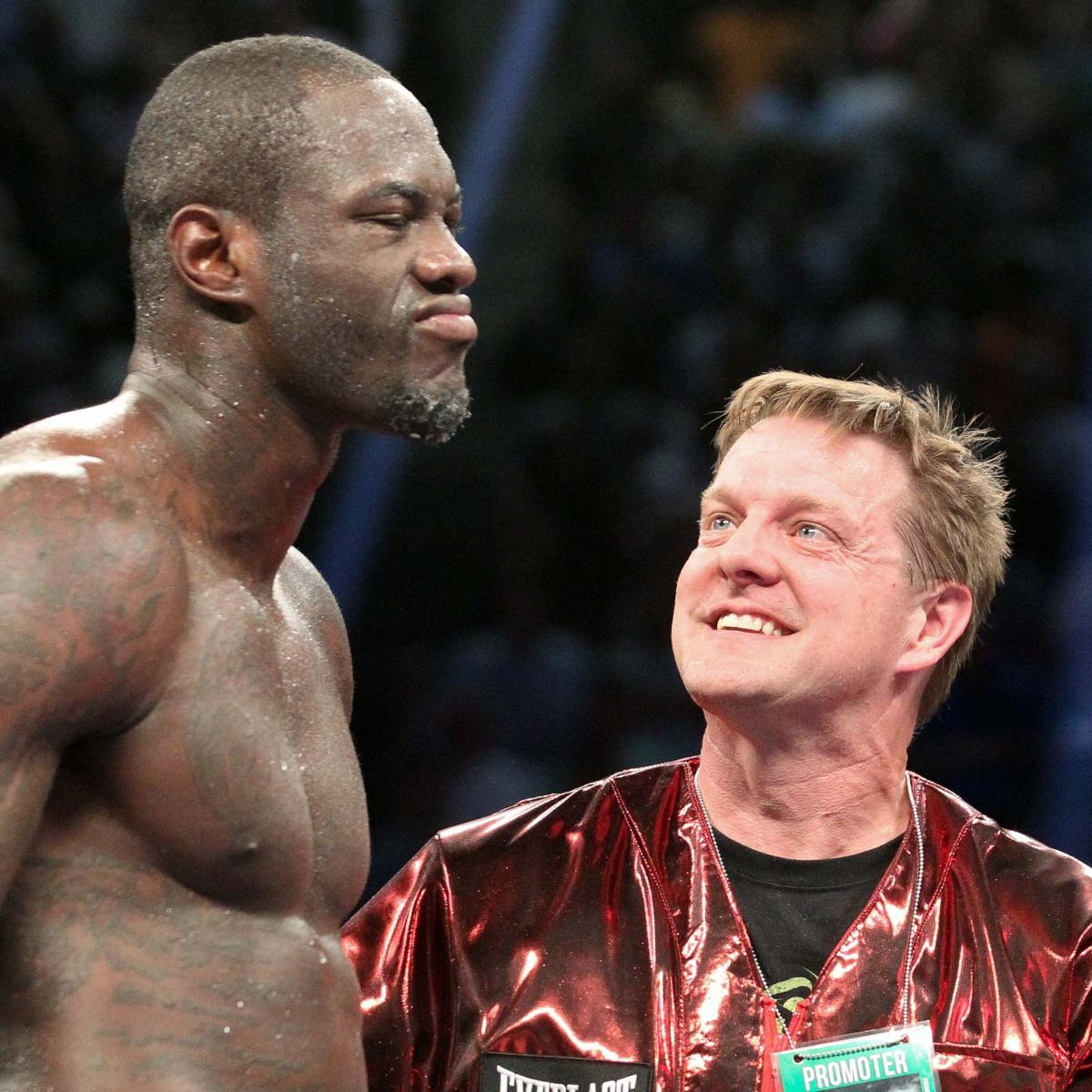 Ranking The Best Opponents For Deontay Wilder's Next Fight