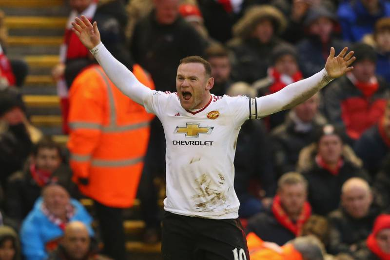 1a006d92c Wayne Rooney silences the home crowd at Anfield by scoring a late winner.