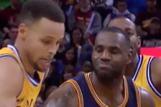 Internet Goes Wild with Memes on LeBron James Reacting to Stephen Curry Steal