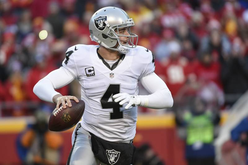 buy popular be74e 06717 Derek Carr to Replace Aaron Rodgers at 2016 NFL Pro Bowl ...