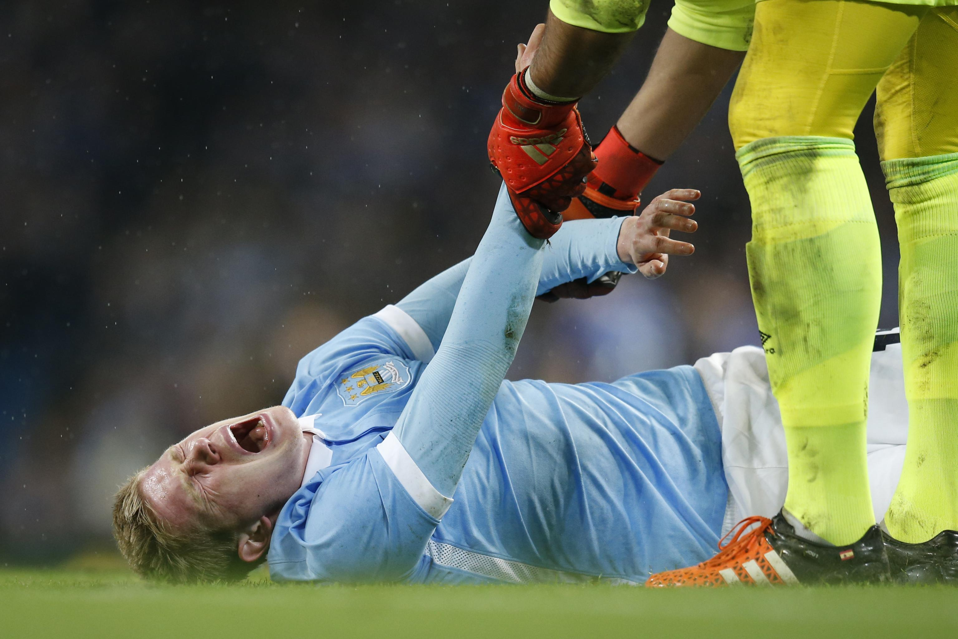 Kevin De Bruyne Injury: Updates on Manchester City Midfielder's Knee and  Return | Bleacher Report | Latest News, Videos and Highlights