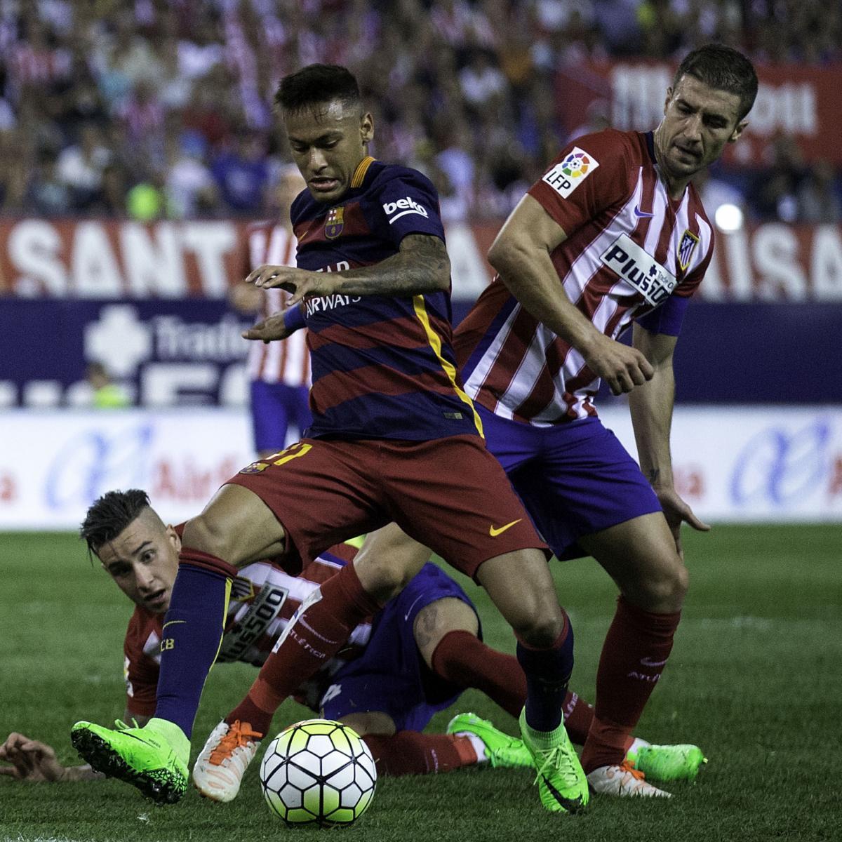 Arsenal Vs Barcelona Live Score Highlights From: Barcelona Vs. Atletico Madrid: Live Score, Highlights From