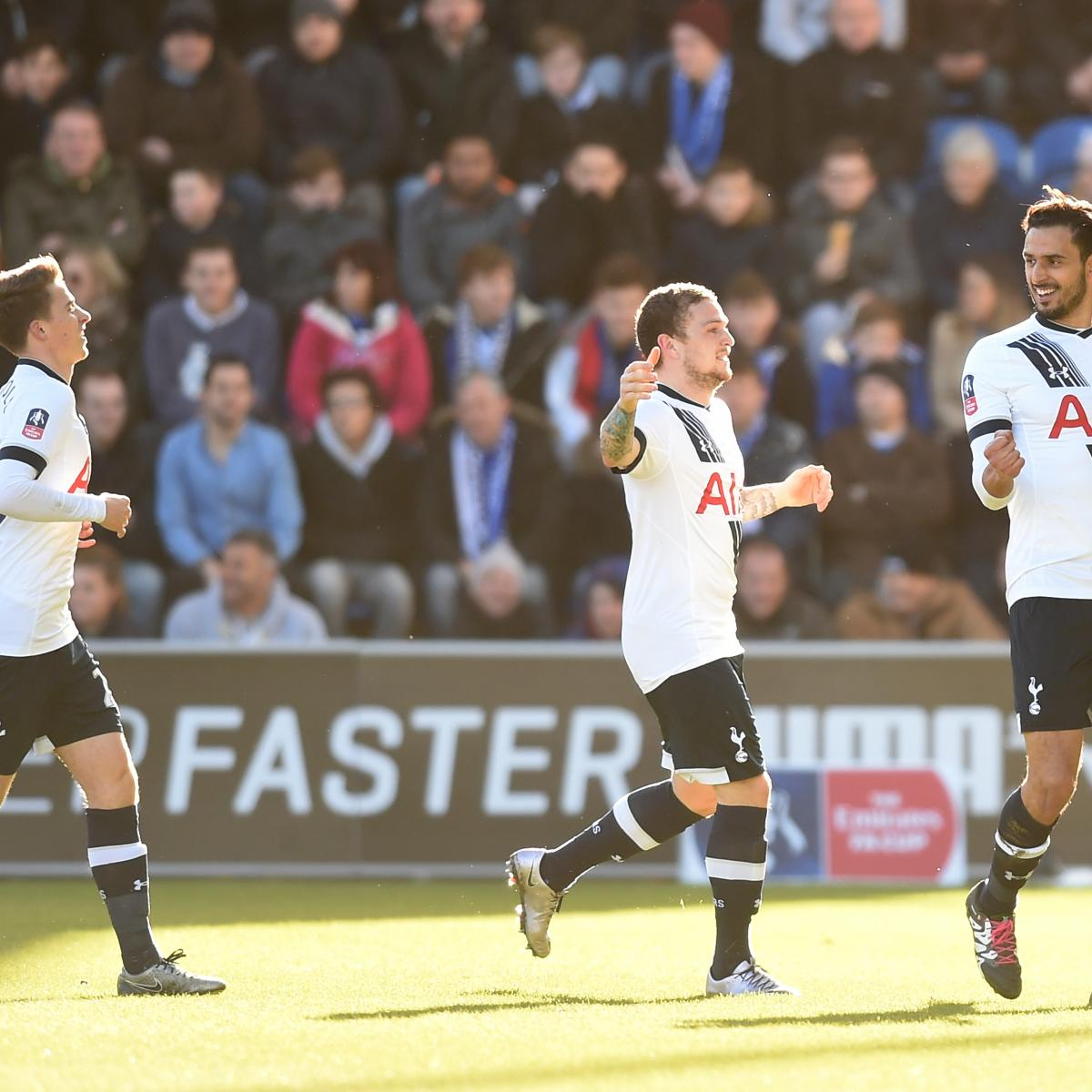 FA Cup 2016: 4th-Round Results, Scores from Saturday's ...