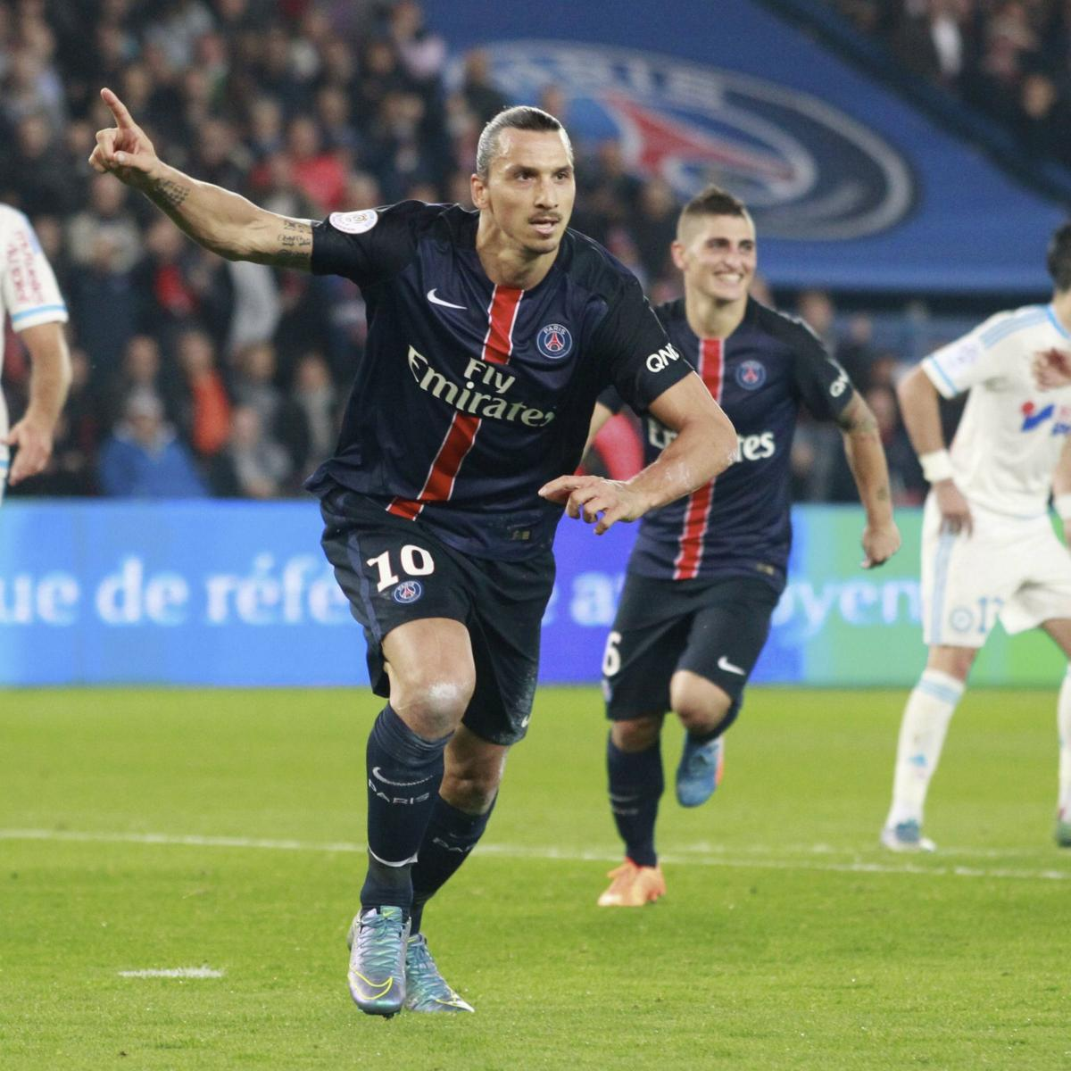 marseille vs psg team news predicted lineups live stream and tv info bleacher report. Black Bedroom Furniture Sets. Home Design Ideas