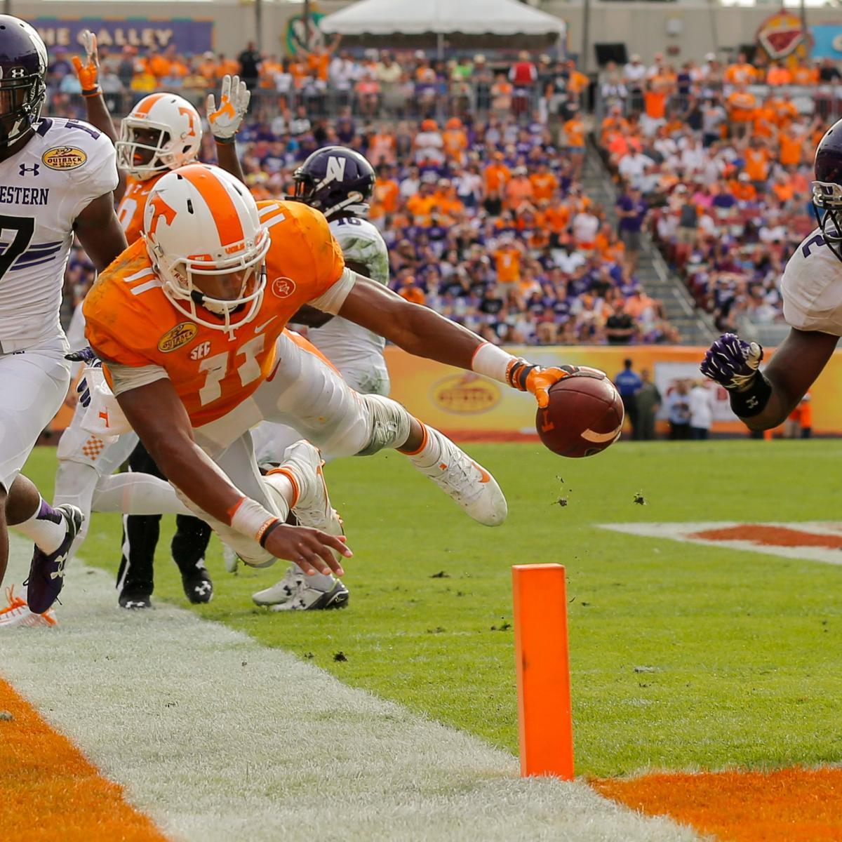 Tennessee Football: Realistic Goals for Quarterback Joshua Dobbs in 2016 | Bleacher Report ...