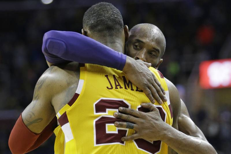 f5526c59af2 LeBron s Reverence for Kobe May See Him Honor Bryant and Skip Rio ...