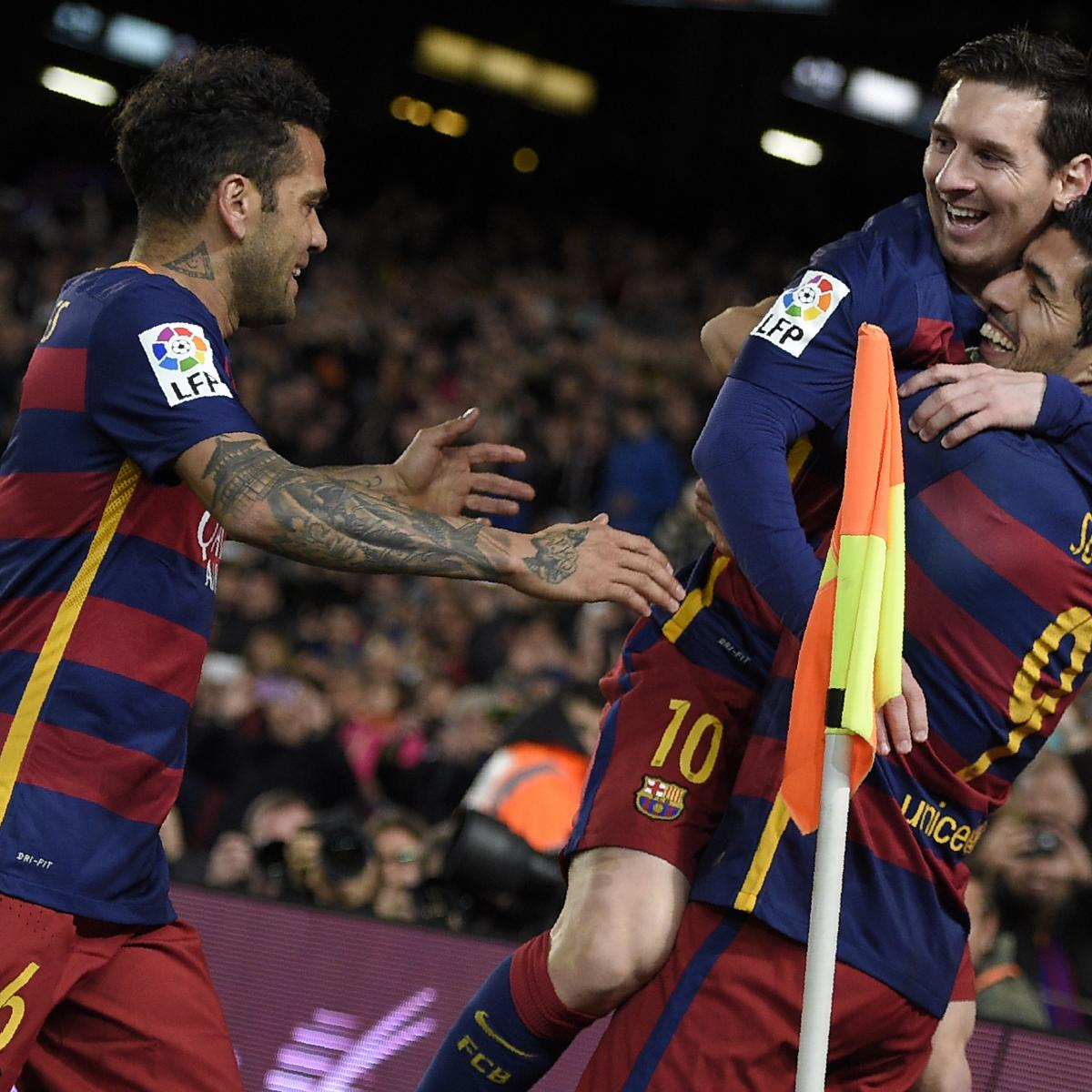 Celta Vigo Vs Barcelona Direct: Barcelona Vs. Celta Vigo: Score, Reaction From 2016 La