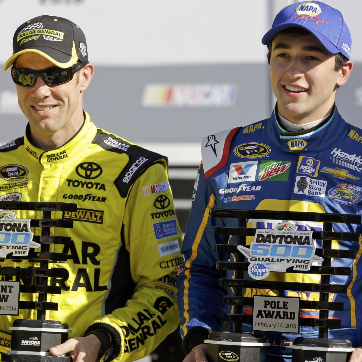 Daytona 500 2016: Complete Schedule, TV Info for NASCAR Opener
