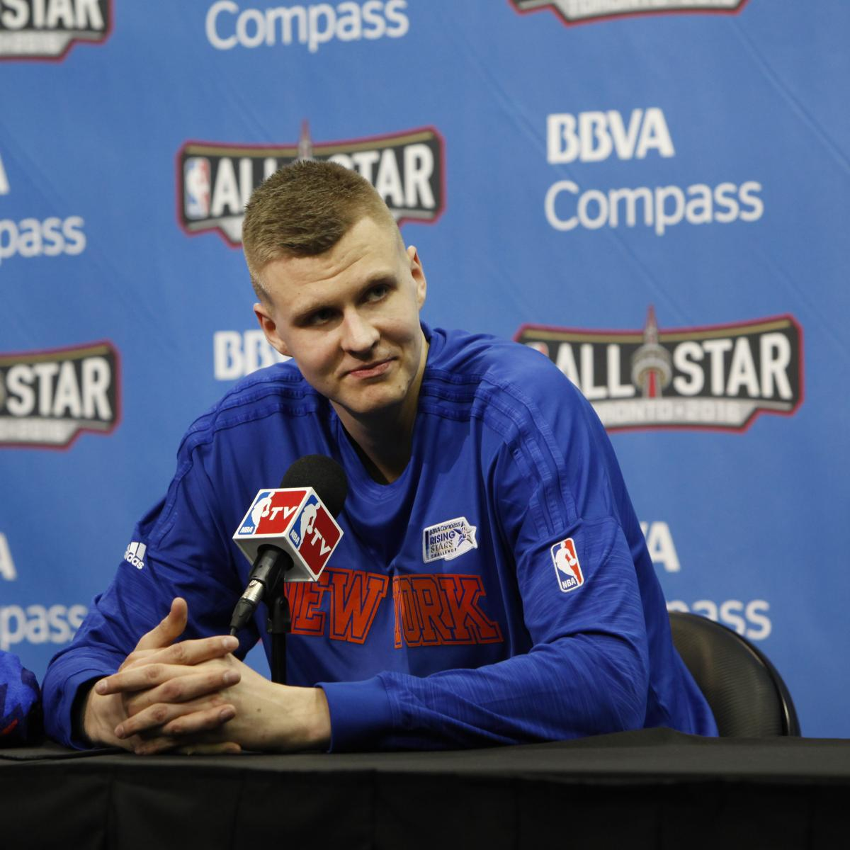 An Expert's Guide To Keeping Knicks Prized Rookie Kristaps