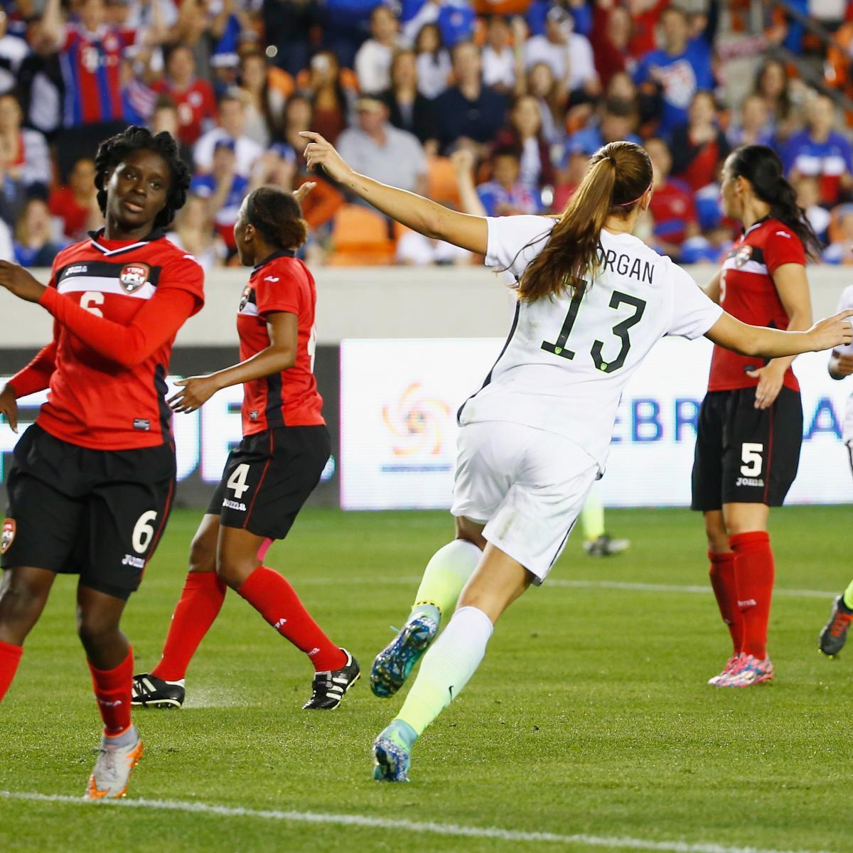 USA vs. Trinidad and Tobago Women's Soccer: Olympic ...