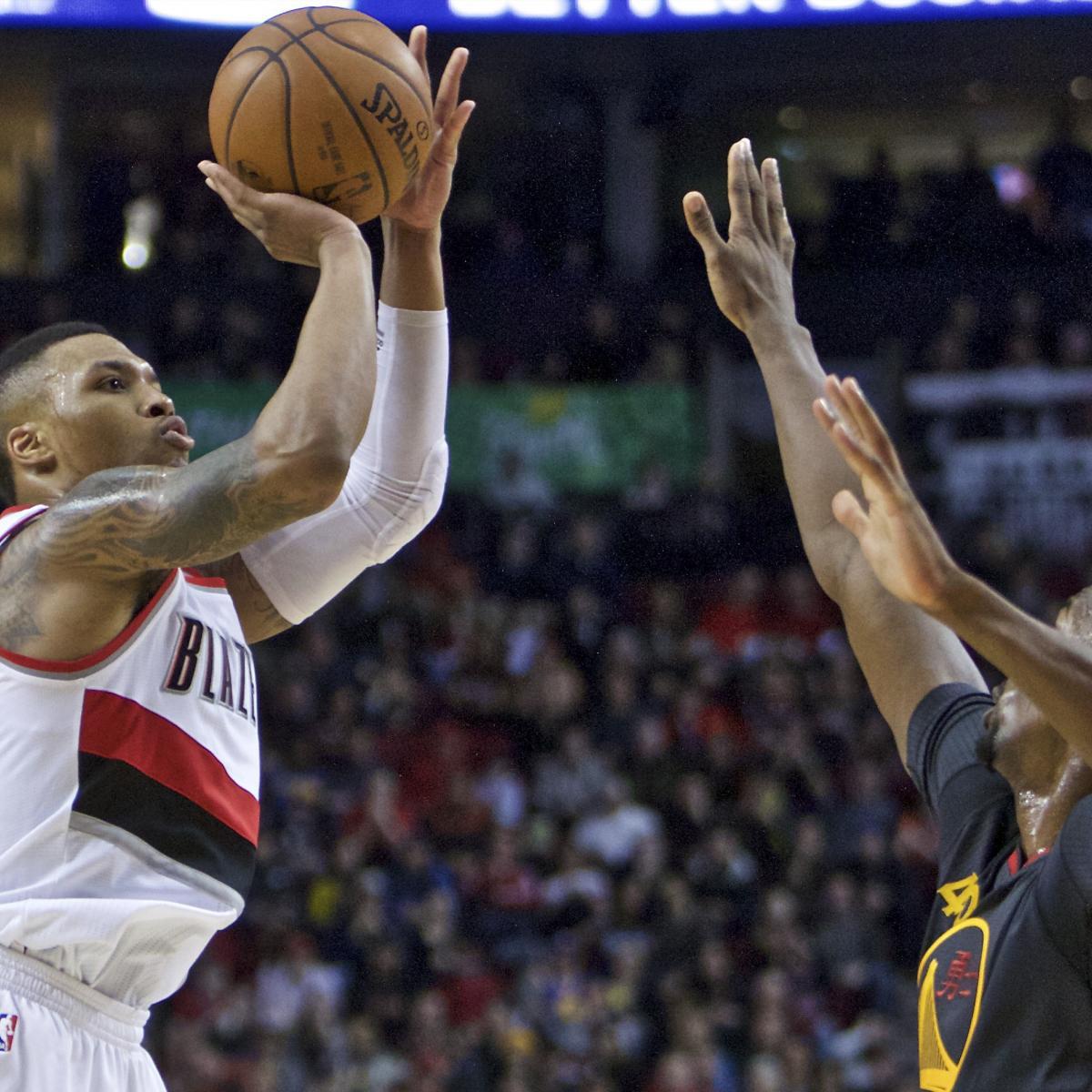 Portland Blazers Live Score: Warriors Vs. Trail Blazers: Score, Highlights, Reaction