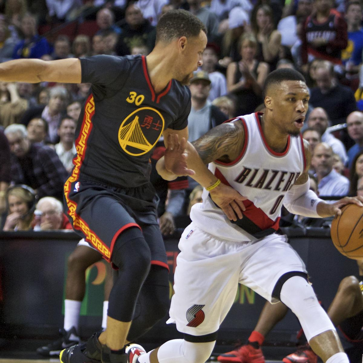 NBA Friday Roundup  Damian Lillard s 51 Points Trip History-Hunting  Warriors  9dfa55fc0