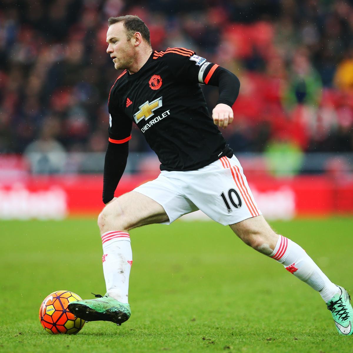 Manchester United Transfer Rumours Cavani Llorente: Manchester United Transfer News: Latest On Wayne Rooney