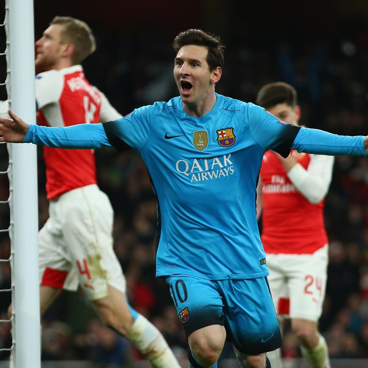 Arsenal Vs Psg Score Reaction From 2016 Champions: Arsenal Vs. Barcelona: Score And Reaction From 2016