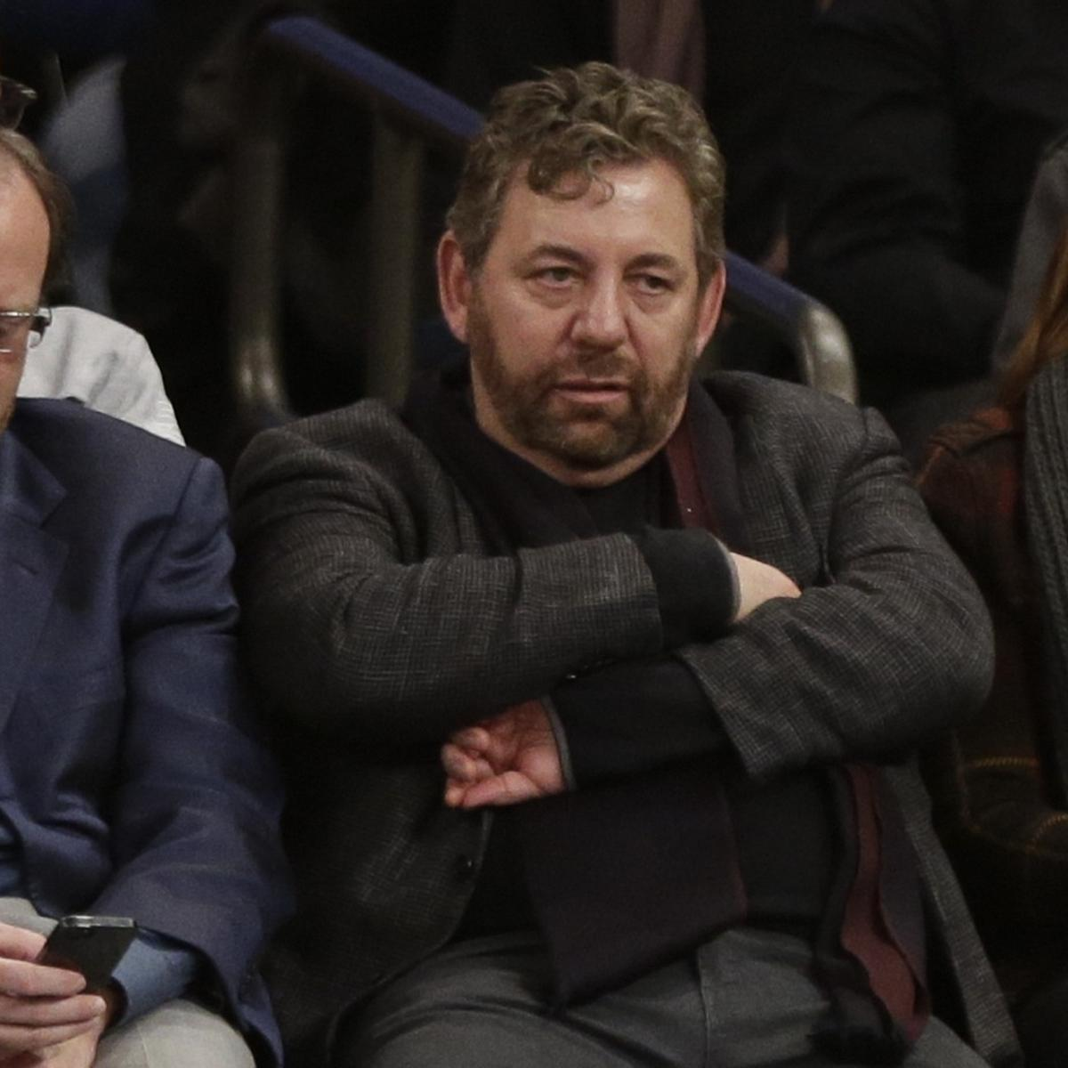James Dolan Reportedly Frustrated With Knicks Struggles Bleacher