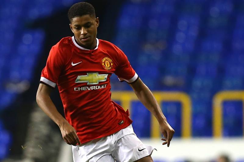 finest selection 7aa30 75000 Marcus Rashford Makes Manchester United Debut: Key Details ...