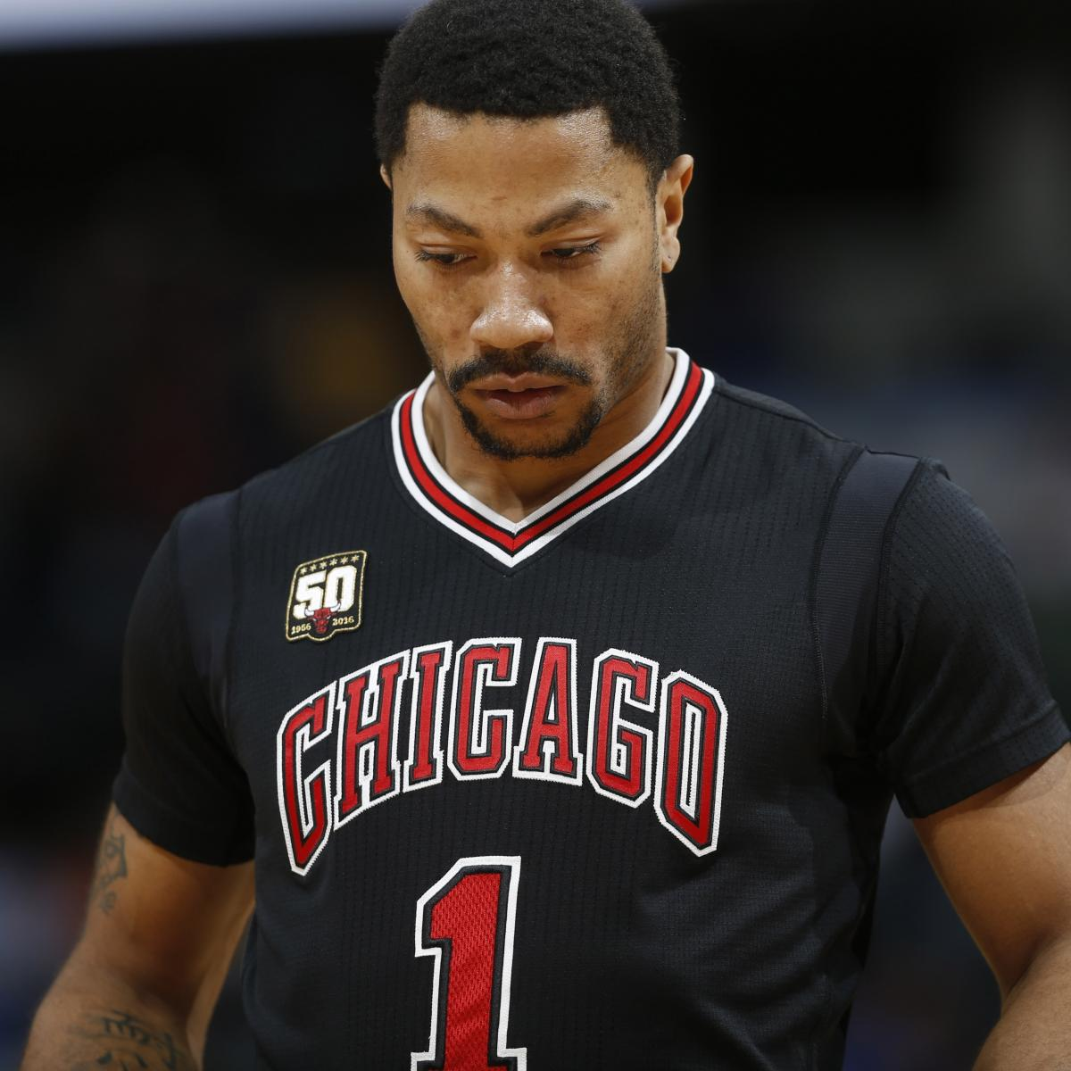 Derrick Rose Injury: Updates on Bulls Star's Groin and Return ...