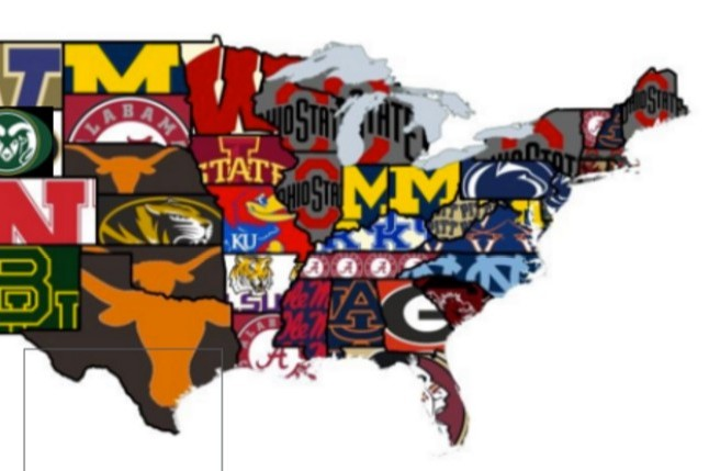 Reddit Poll Names Most Hated College Football Team in Every
