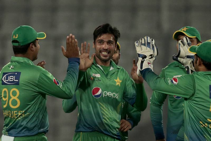 Mohammad Amir Takes 2-6 off 4 Overs as Pakistan Beat UAE in