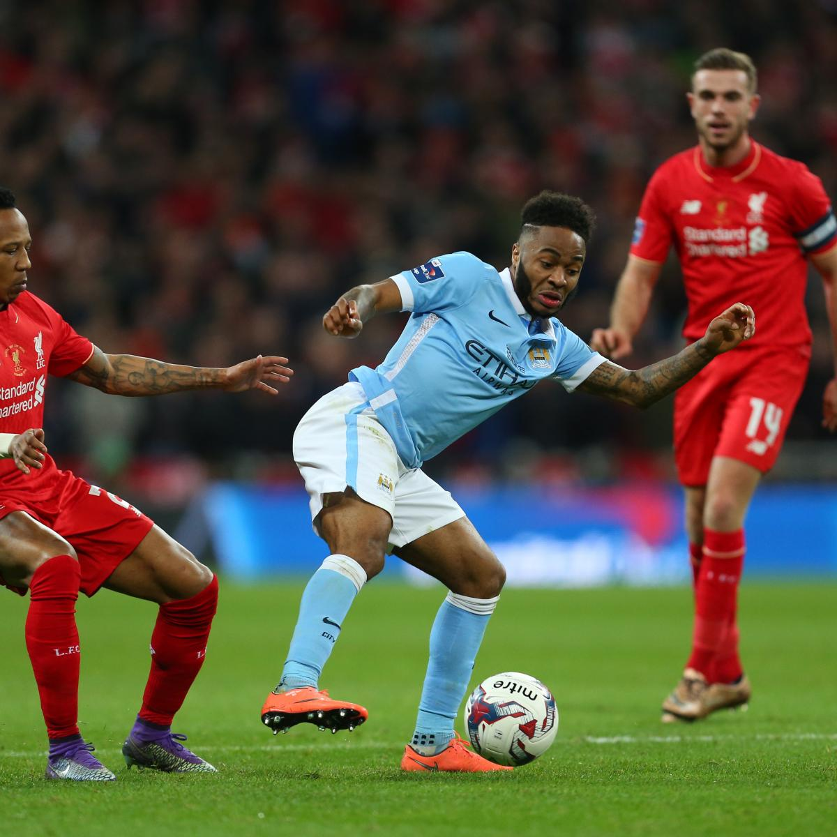 Liverpool vs. Manchester City: Complete Player-by-Player ...