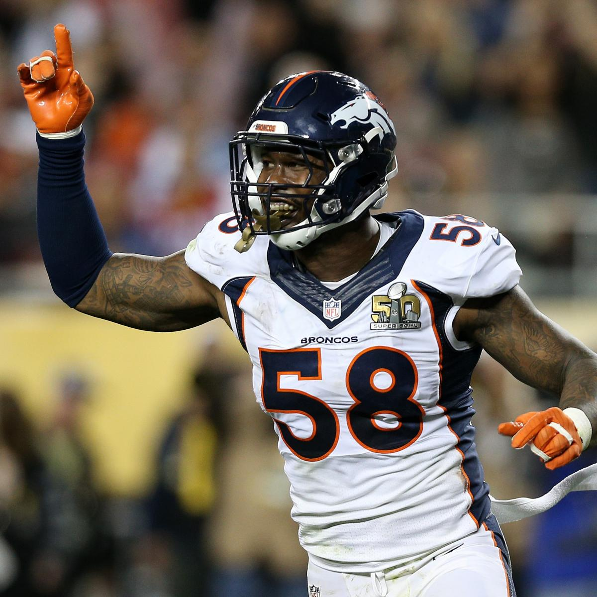 Von Miller, Broncos Agree to New Contract: Latest Details ...