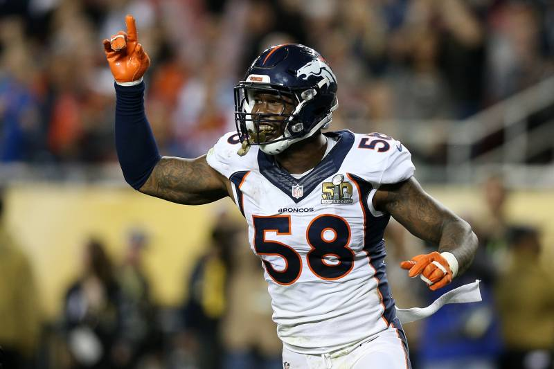 7b67dca0df3 Von Miller, Broncos Agree to New Contract: Latest Details, Comments ...