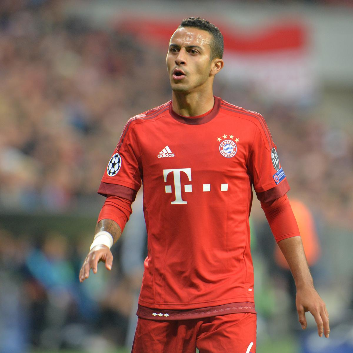 Thiago scores, comes off with injury (update) - Bavarian ...