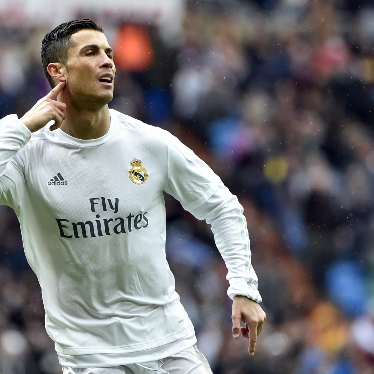 Cristiano Ronaldo S 4 Goals Lead Real Madrid To Win Vs: Real Madrid Vs. Celta Vigo: Score, Reaction From 2016 La