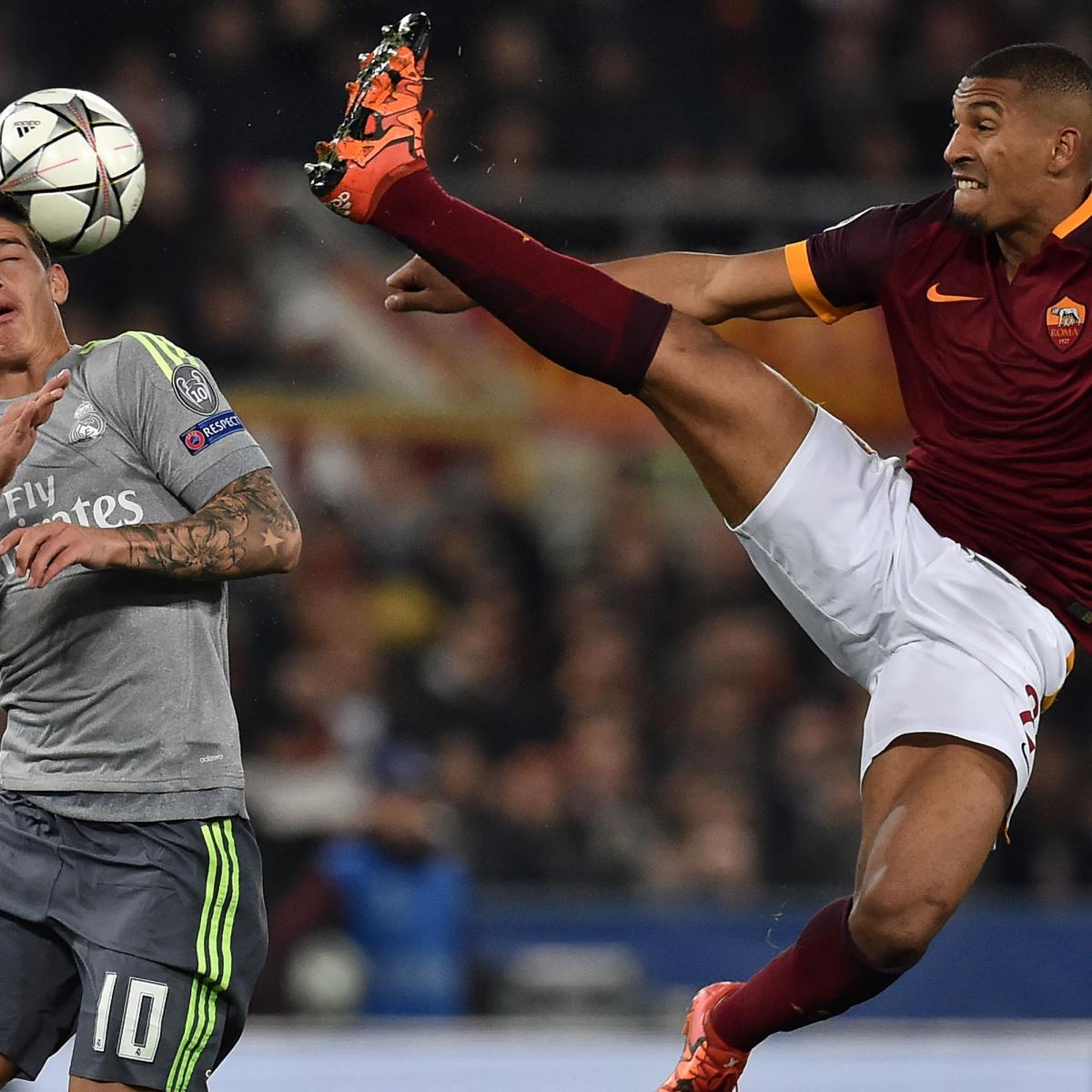 Champions League Roma Vs Barcelona: Real Madrid Vs. Roma: Live Score, Highlights From