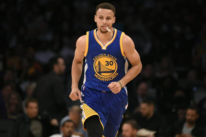 84739dce83e Golden State Warriors guard Stephen Curry in action during the first half  of an NBA basketball