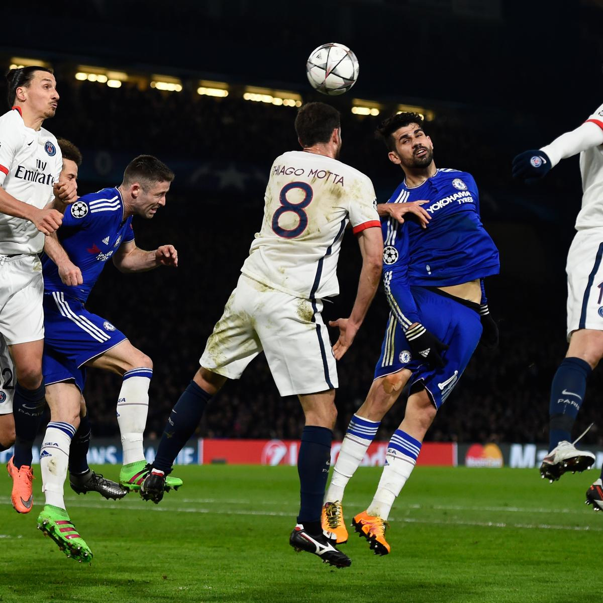 Psg Vs Chelsea Live Score Highlights From Champions