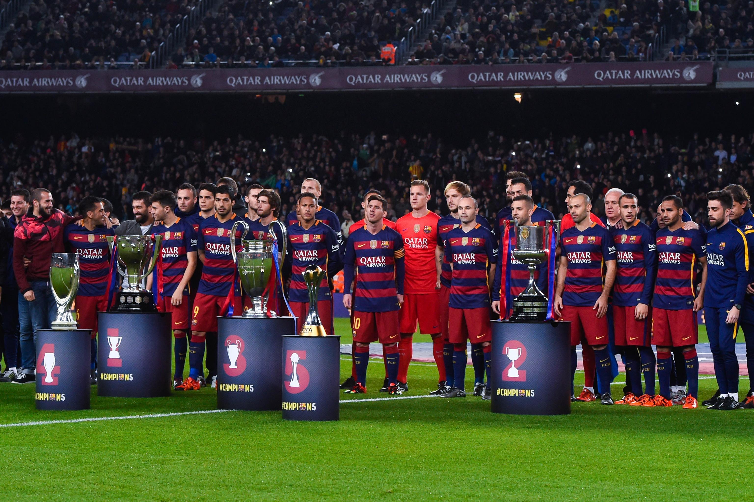Barcelona Stars Reportedly Due Huge Bonus for Treble Success   Bleacher  Report   Latest News, Videos and Highlights