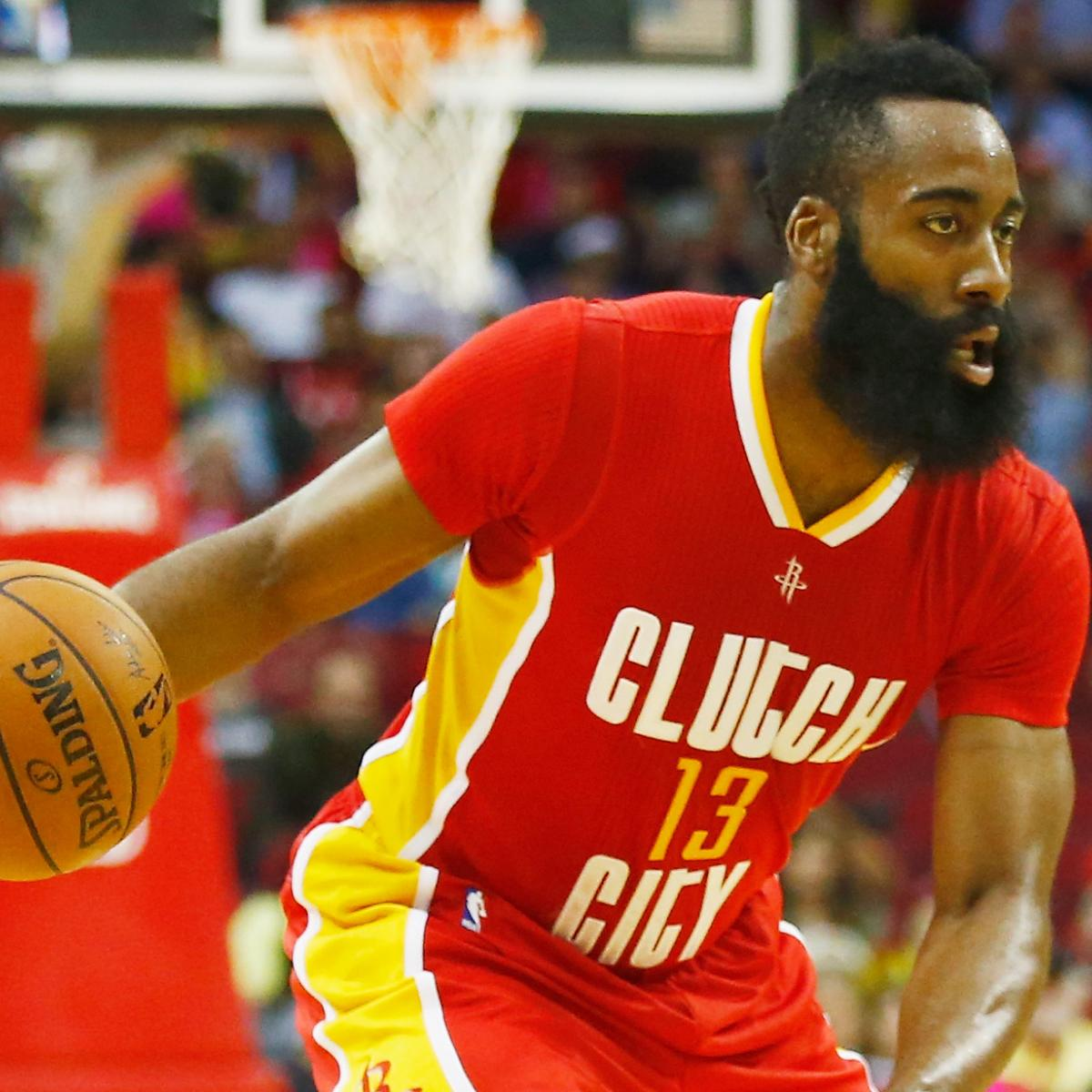3a00390f848 James Harden s Solo Act Not Cutting It for Rockets and Wednesday NBA  Takeaways