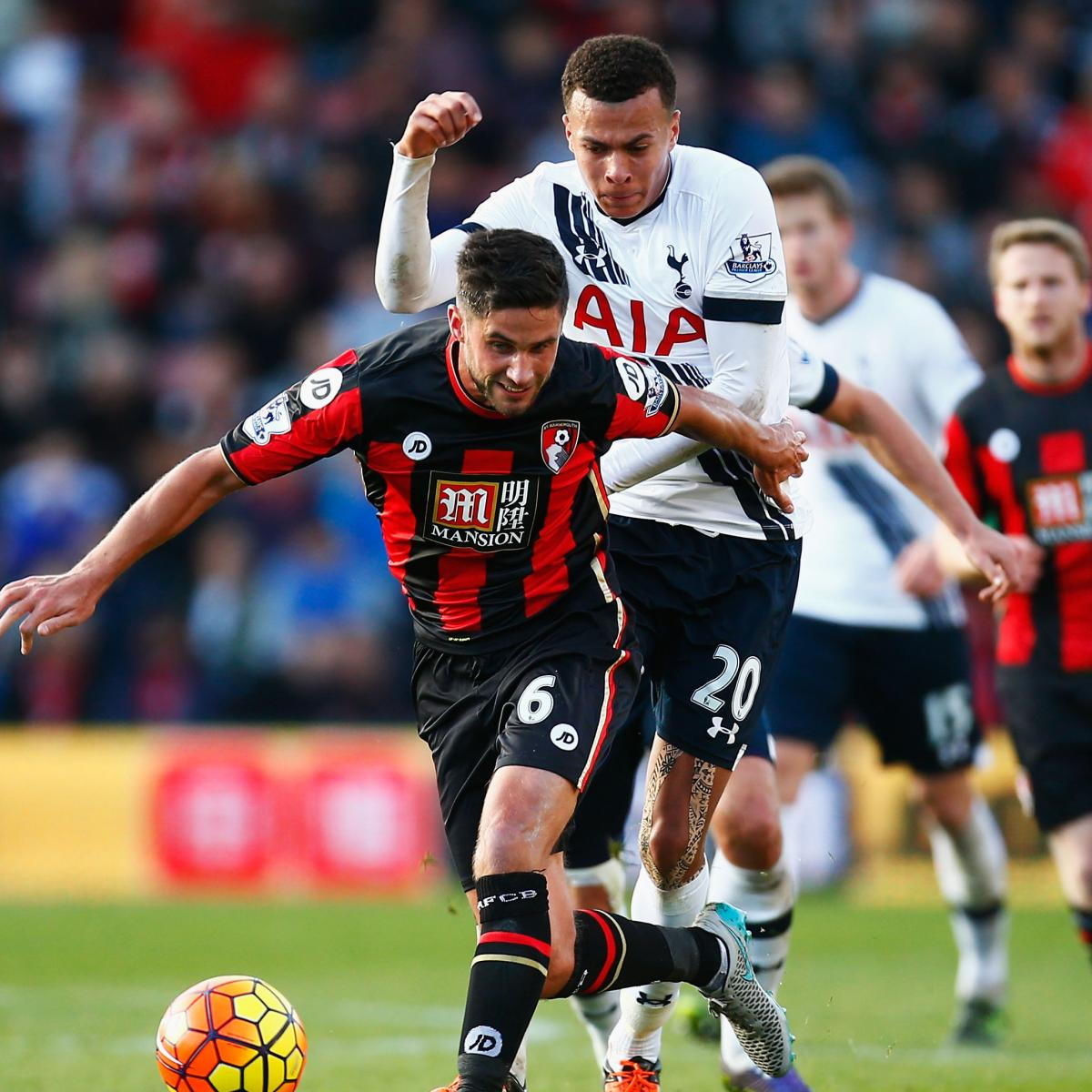 Tottenham Vs. Bournemouth: Team News, Live Stream, TV Info