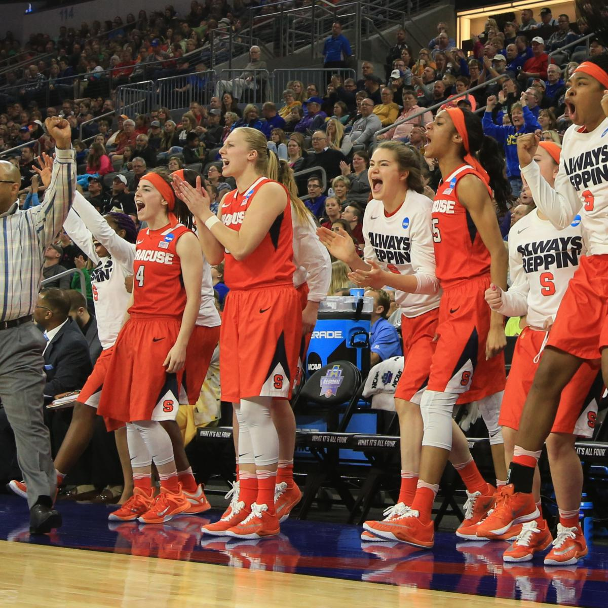 NCAA Women's Basketball Tournament 2016: Friday Sweet 16 ...