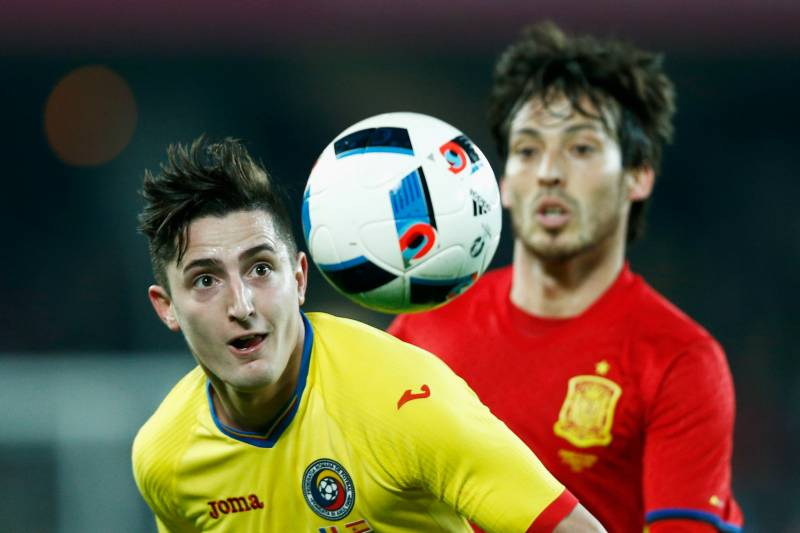 Romania Vs Spain Live Score Highlights From International