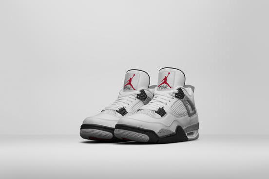 Nike Air Jordan 4  Cement   Comparing the OG vs. the Latest Retro ... 78c837389