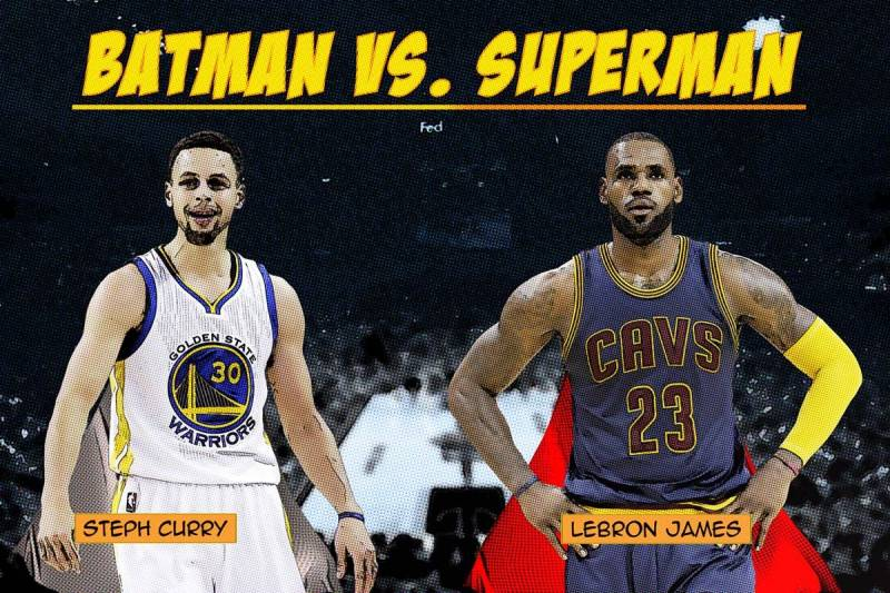 243ad1e9ed7 Stephen Curry vs. LeBron James  The NBA s Version of Batman vs ...