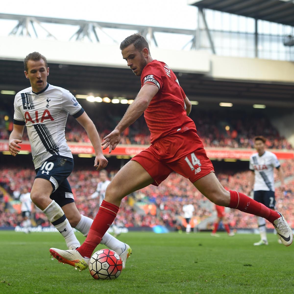 Liverpool Vs. Tottenham: Live Score, Highlights From