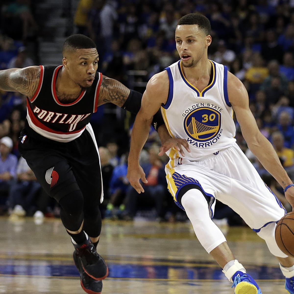 Blazers Score: Trail Blazers Vs. Warriors: Score, Video Highlights And